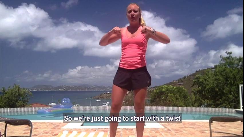 HIIT: Tabata workout with Kasey