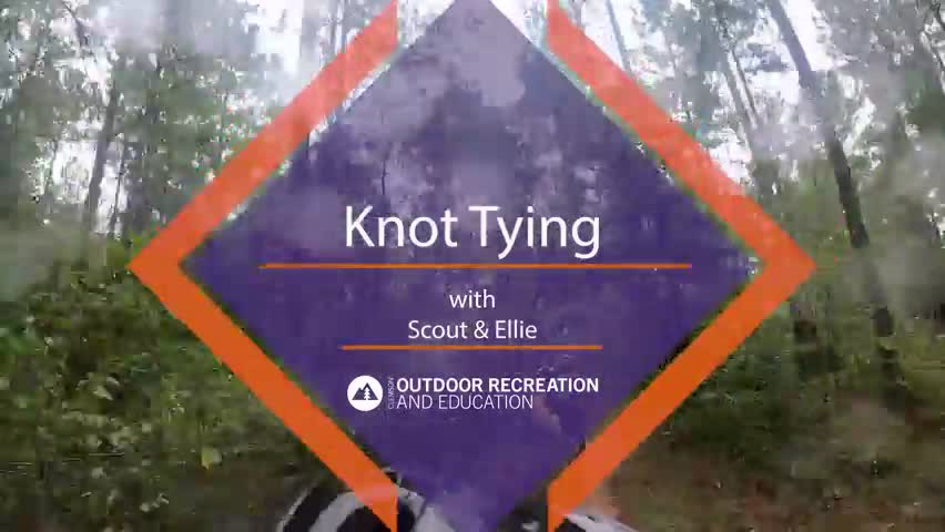 Knot Tying with Scout & Ellie