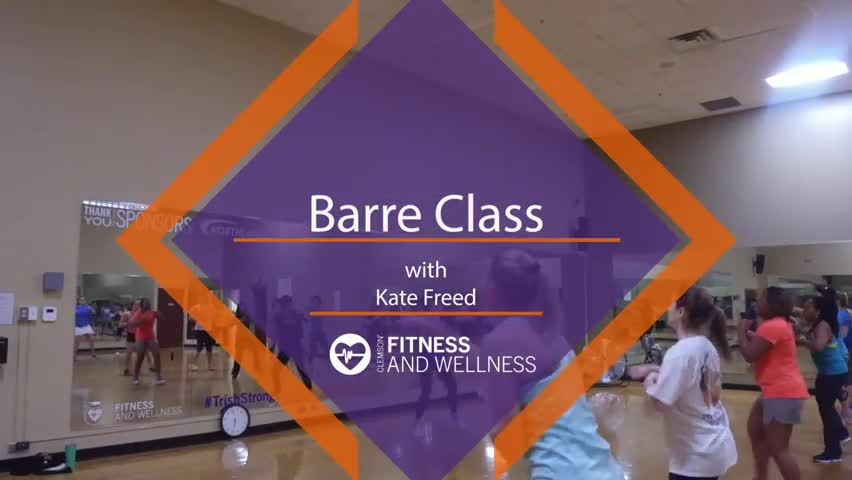 Barre Class with Kate