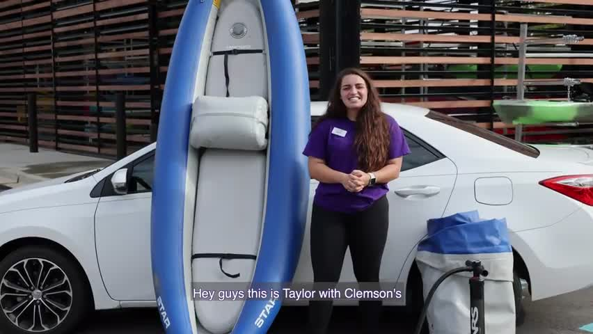 Inflatable Kayak with Taylor