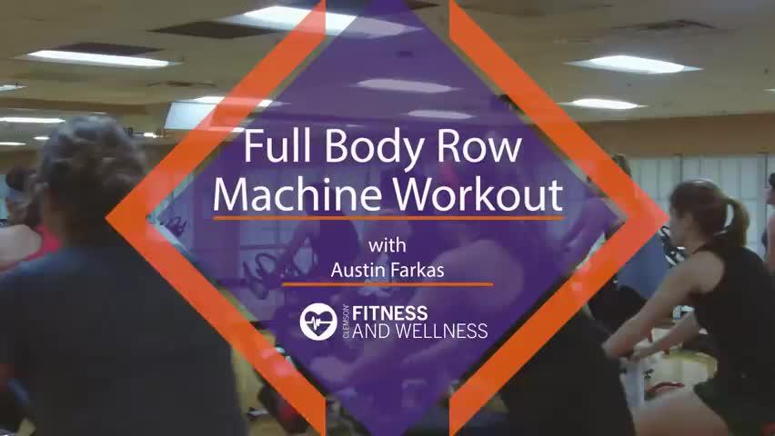 Full Body Row Machine Workout with Austin
