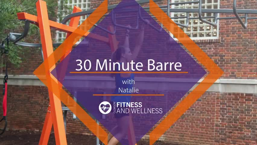 30 Minute Barre with Natalie