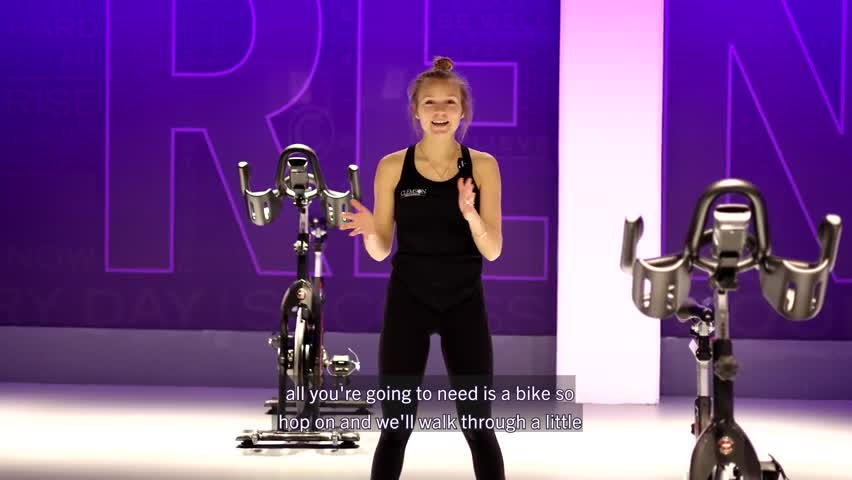 Cycling Workout with Justine