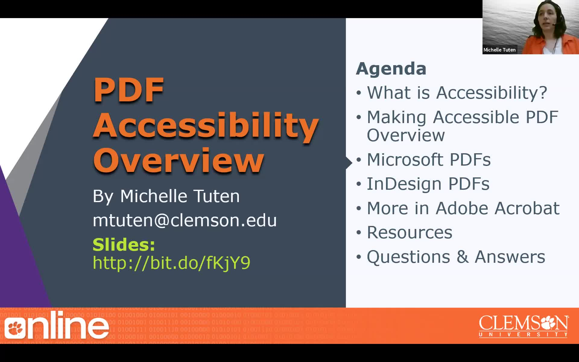 PDF Accessibility Overview